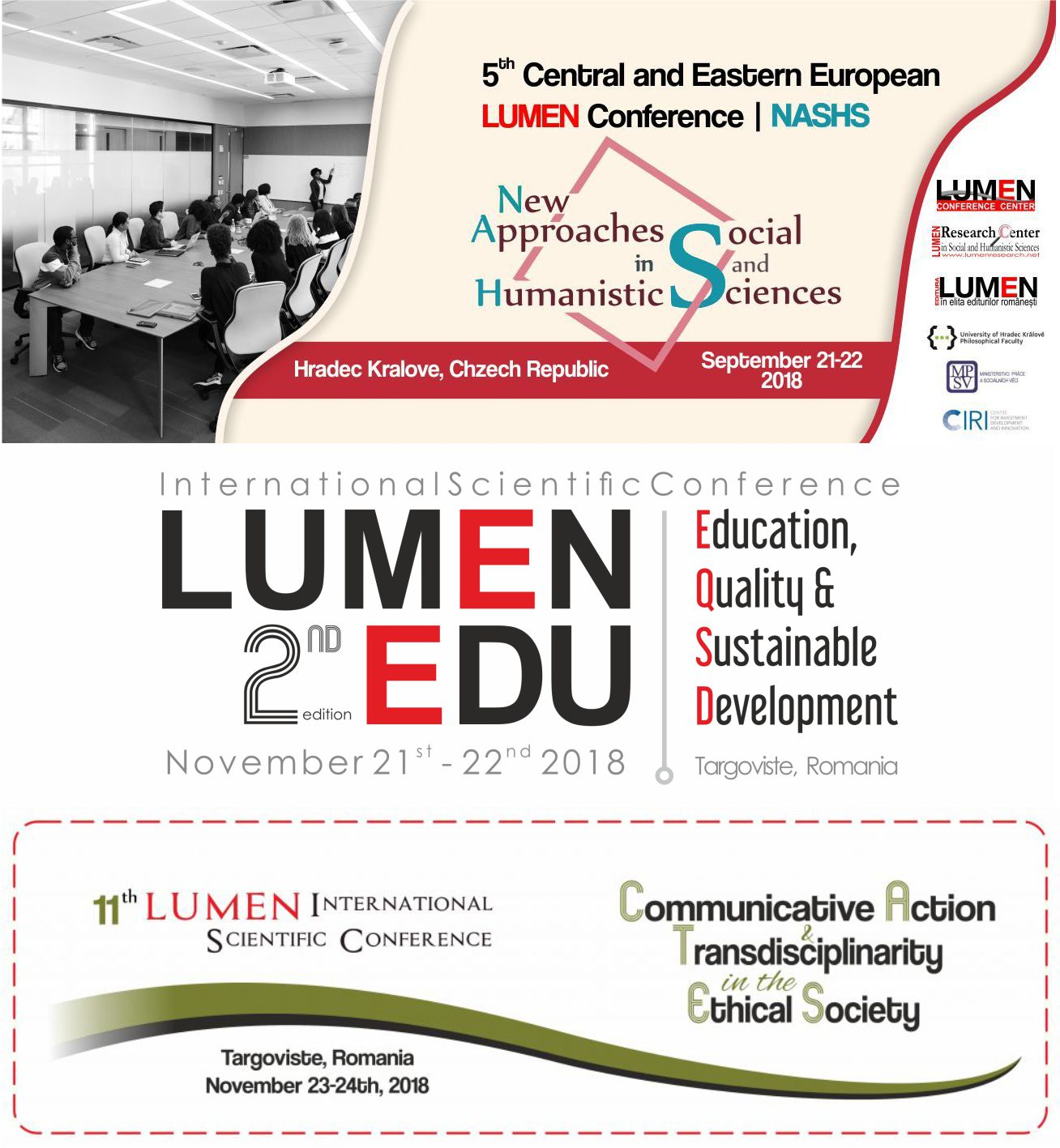 Click to consult and register to LUMEN next scientific events!