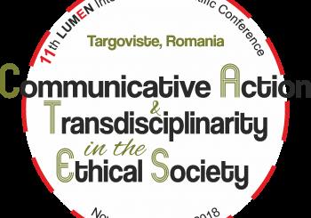 11th LUMEN CATES 2018 | 23-24 November 2018 | Targoviste, Romania