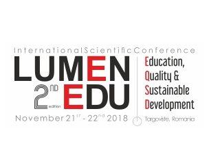 LUMEN EDU EQSD2018 | November 21 – 22, 2018 | Targoviste, Romania